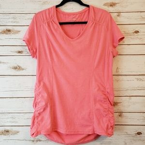 Tangerine athletic coral top XL